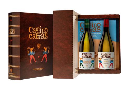 caja de pack de vino 5 godello + albariño