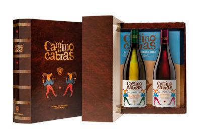 Caja de vino 2 godello y mencía