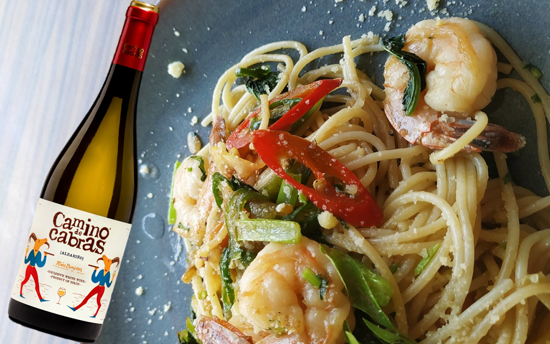 The benefits of pasta in our diet and why not? Enjoy it with a good glass of Camino de Cabras wine.